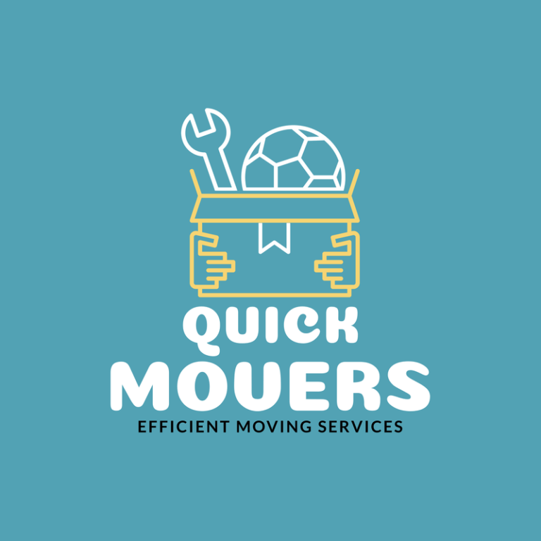 Moving Service Logo Maker With Cartoon Character