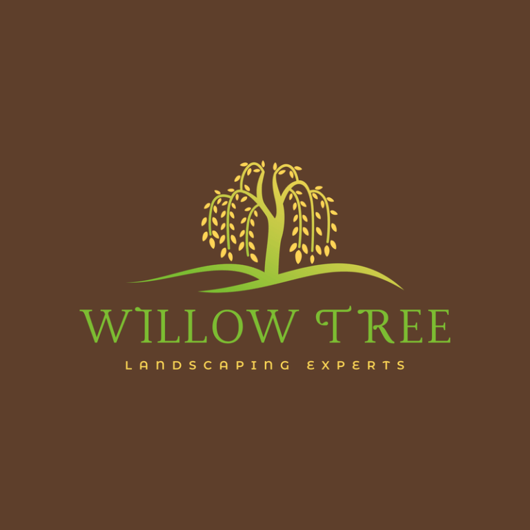 Multicolor Logo Template For Landscaping Services