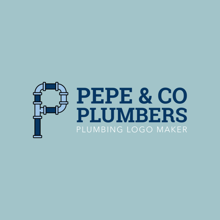Plumbers Logo Maker With Pipe Fonts