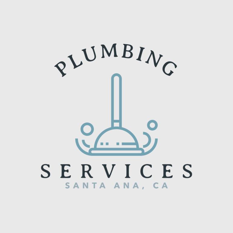 Plumbing Logo Template With Professional Plumbing Graphics