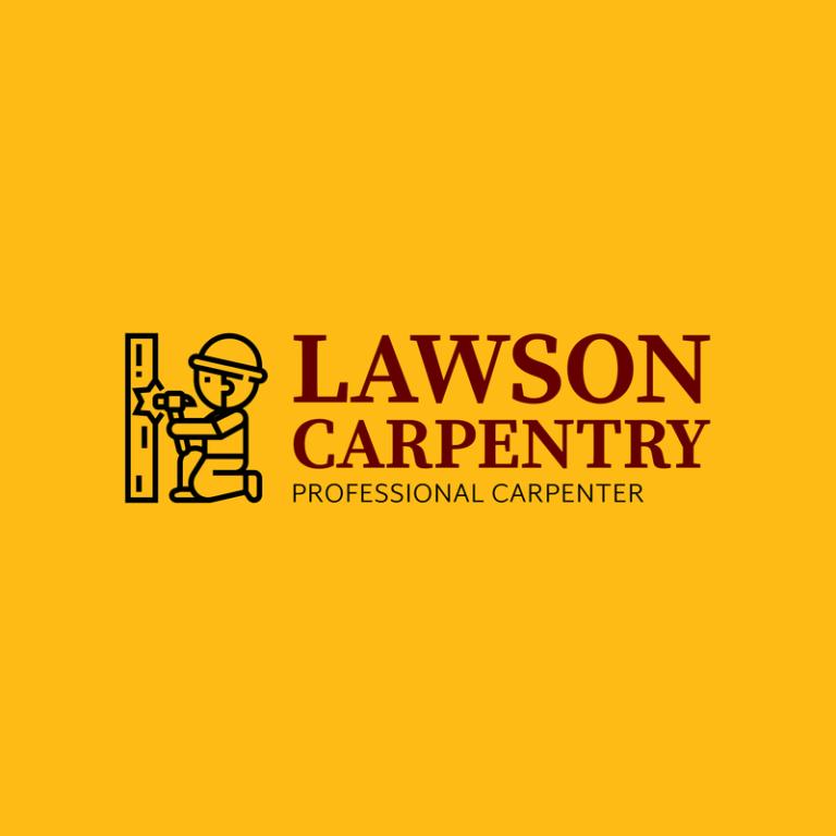 Simple Carpentry Logo Template