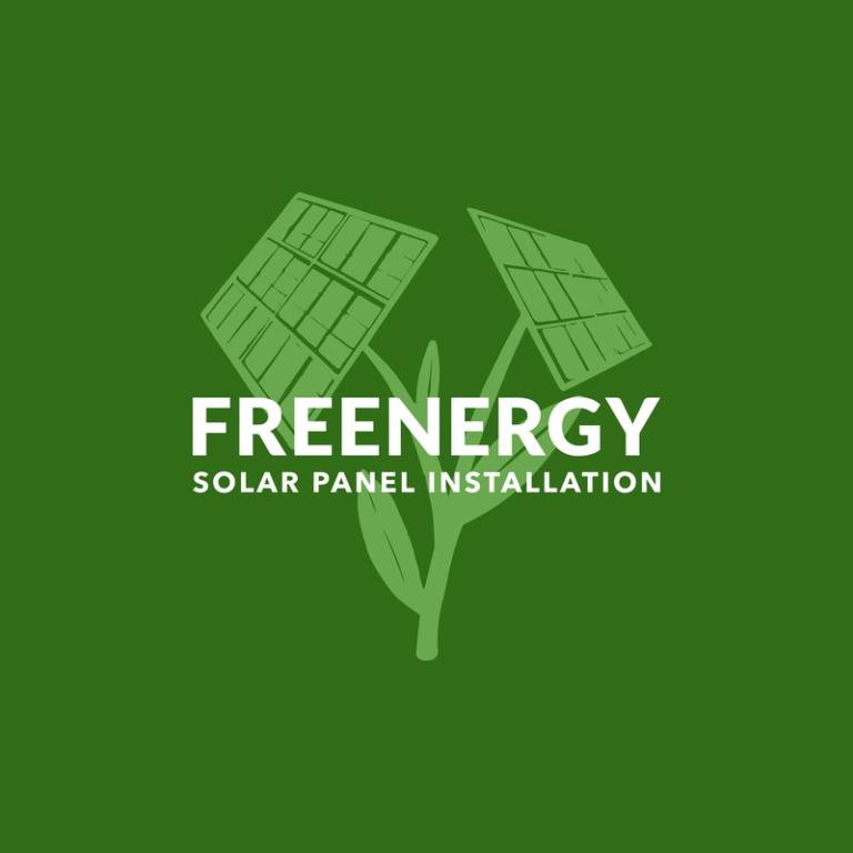 Solar Power Installation Professional Logo Maker