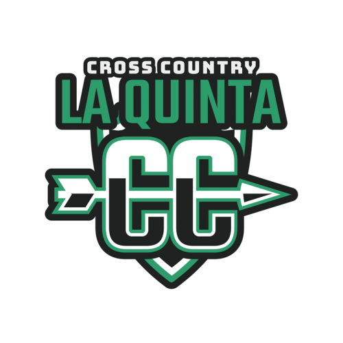 Cross Country Logo Maker With Arrow Graphic