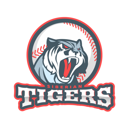 Logo Maker For A Baseball Team With Tiger Clipart