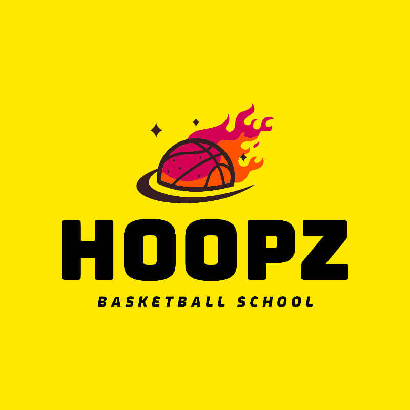 Basketball Logo Ball