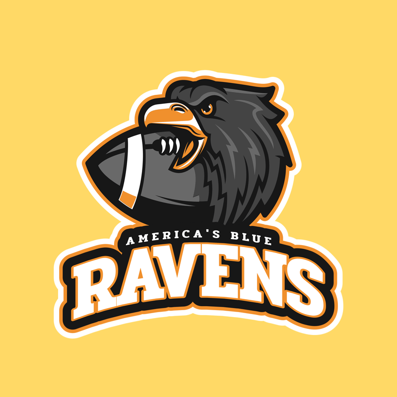 Football Mascot Sports Logo Maker 245c (1)