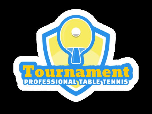 Professional Table Tennis Logo Design