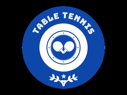 Table Tennis Logo Generato