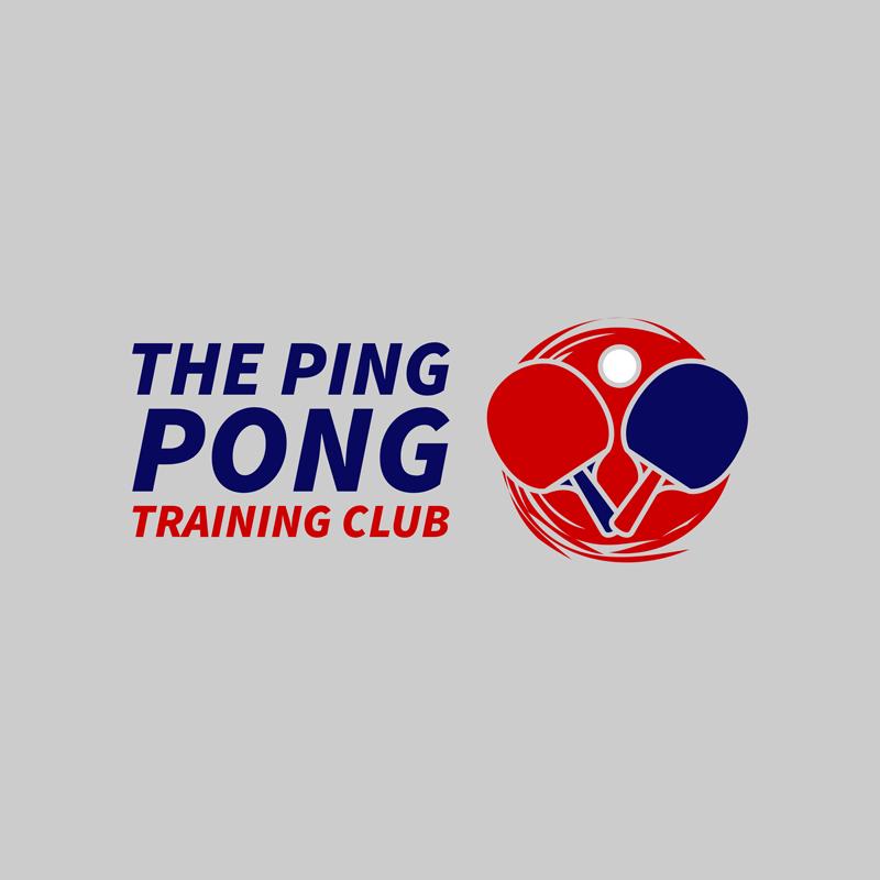 Table Tennis Logo Ping Pong Rackets