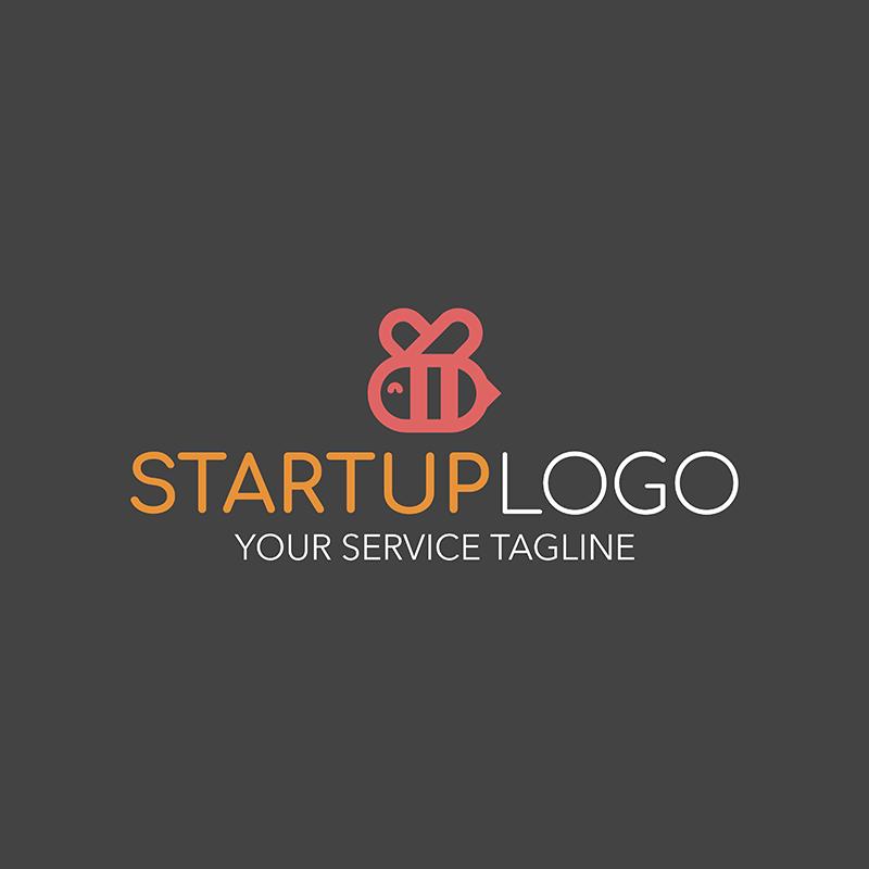 Start Up Logo Maker With Animal Graphics