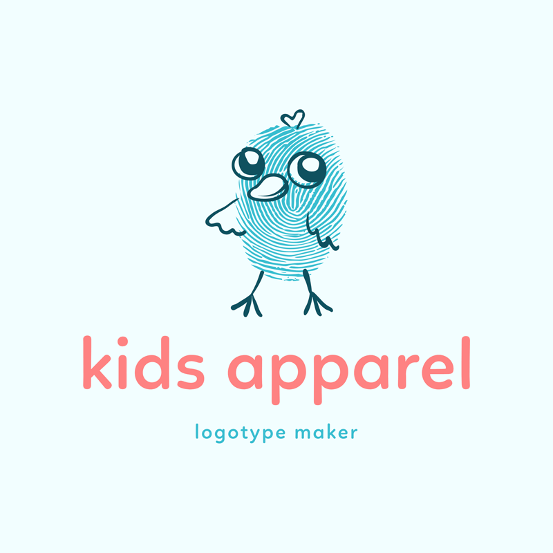 Apparel Logo Maker For Kids