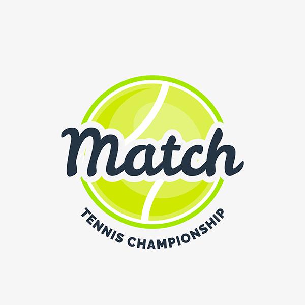 Tennis Championship Logo Generator 1603e