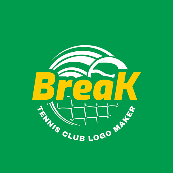 Tennis Club Logo Template 1603b