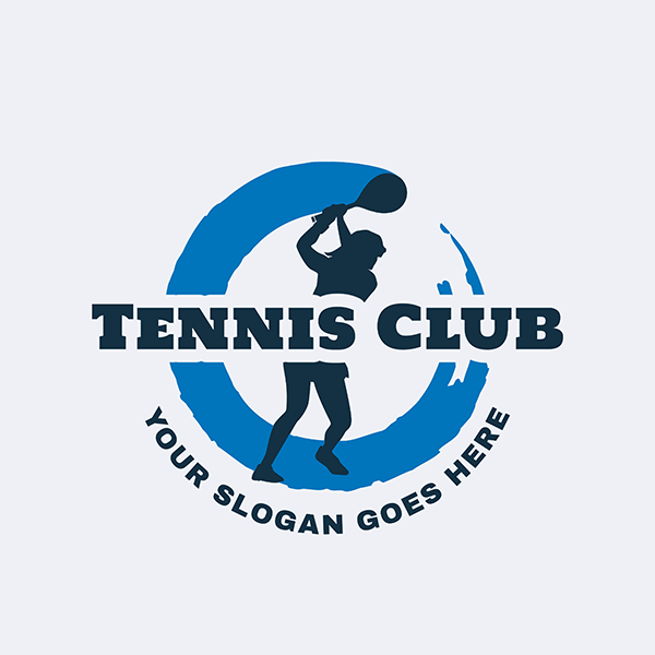 Tennis Logo Creator For A Tennis Club 1603c