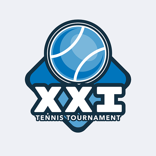 Tennis Logo Template For A Tennis Tournament 1602c
