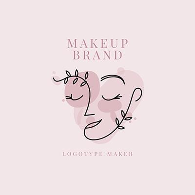 Makeup Brand Logo Maker With An Avant Garde Style