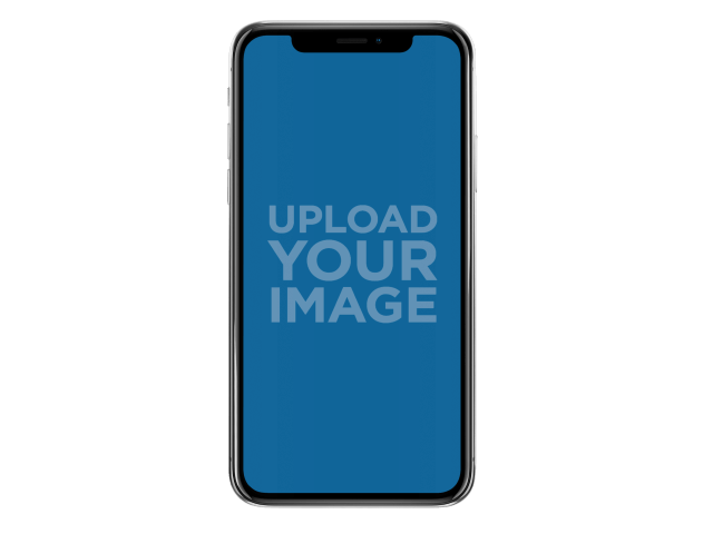 Transparent Iphone X Mockup