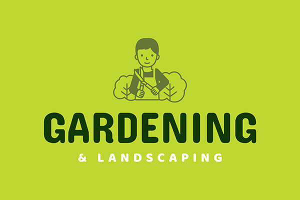 Landscaping Logo Template Example