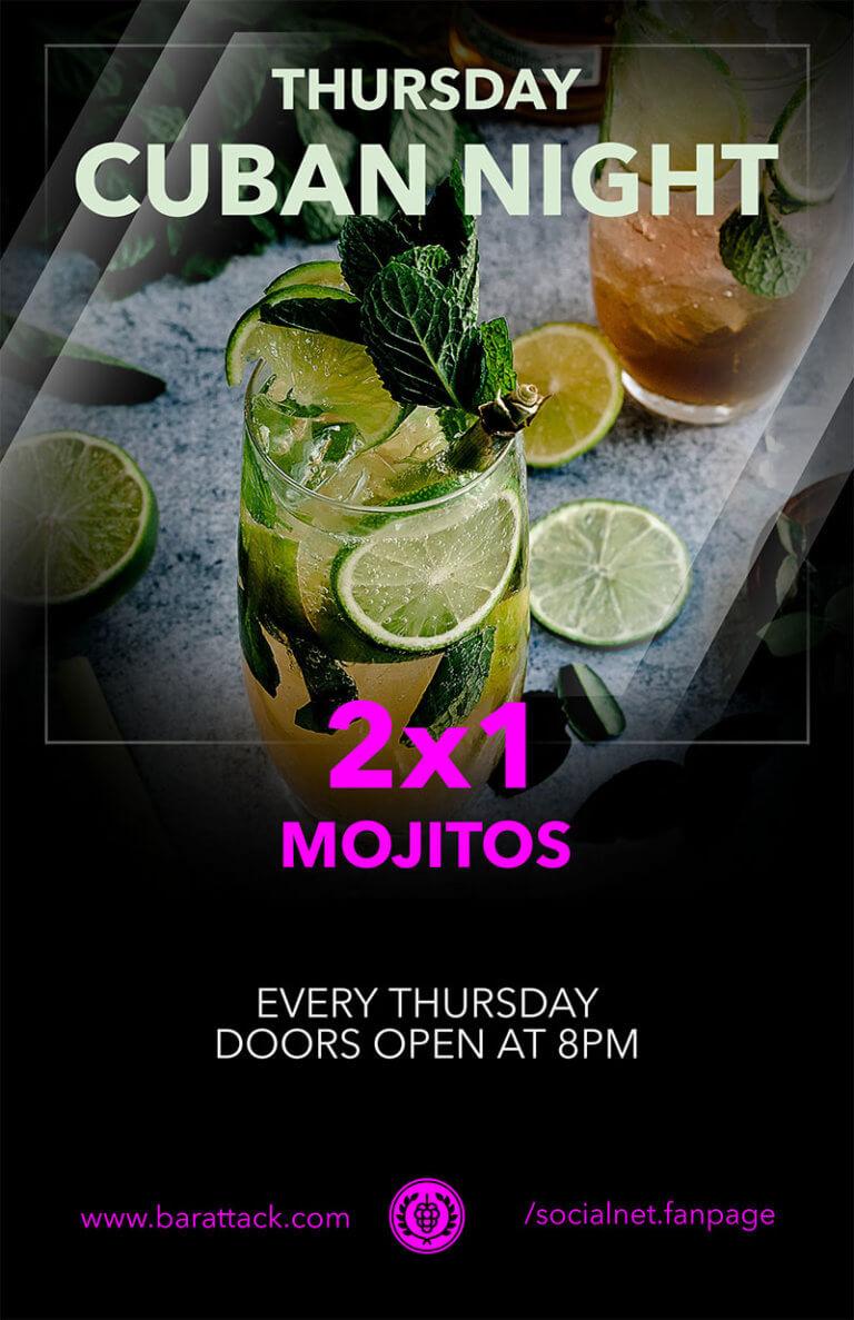Bar Flyer Mojitos Copy