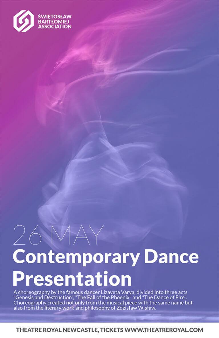 Contemporary Dance Flyer Copy