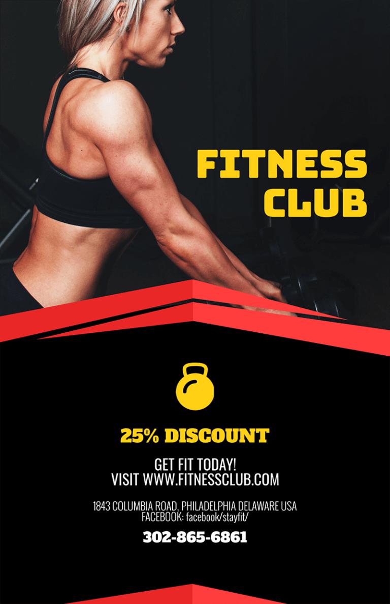 Fitness Flyer Fitness Club
