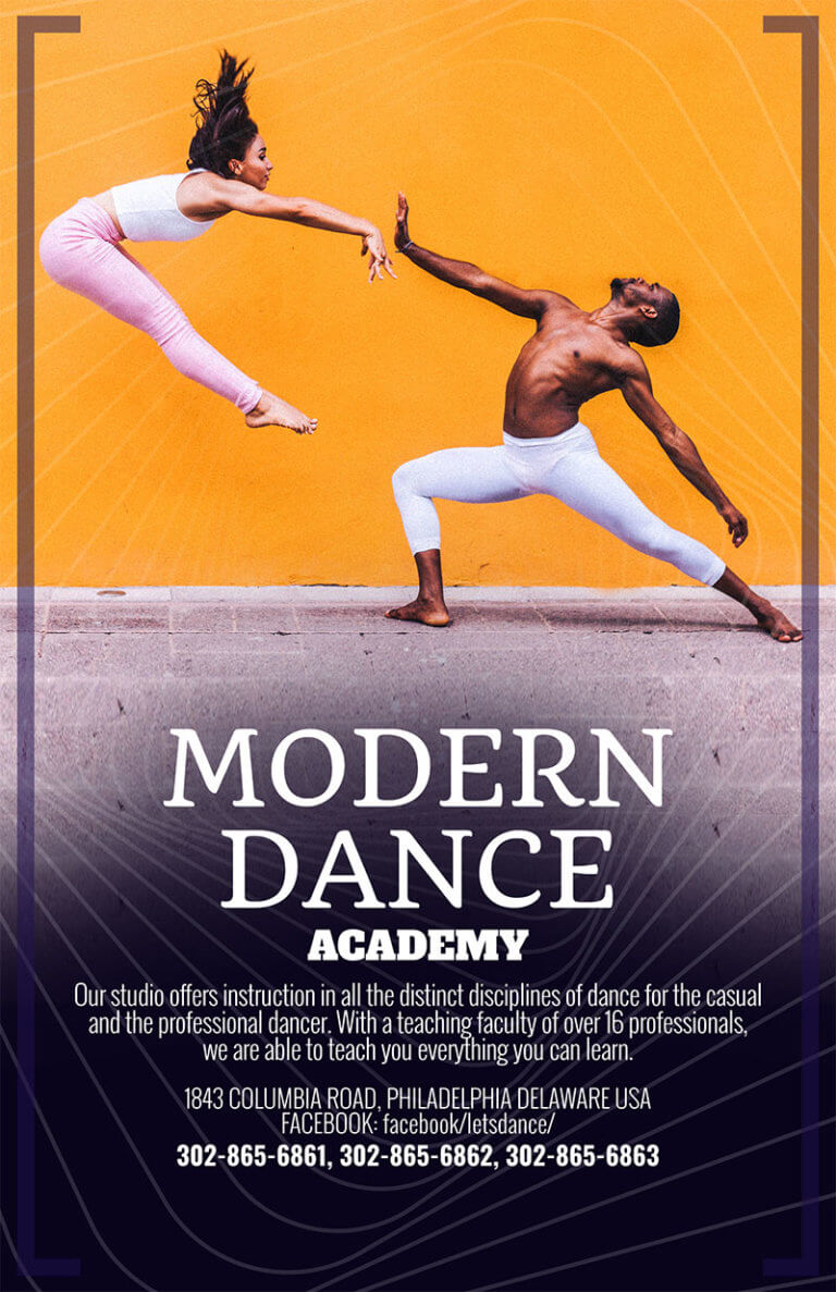 Modern Dance Flyer Copy
