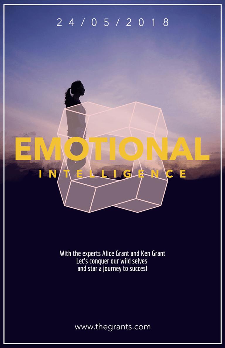 Conference Flyer Emotional Intelligence