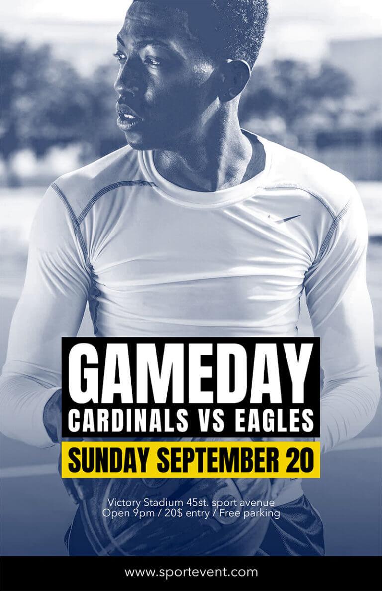 Sports Flyer Gameday Copy