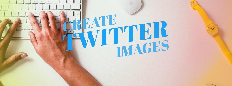 Twitter Social Media Image Maker Header
