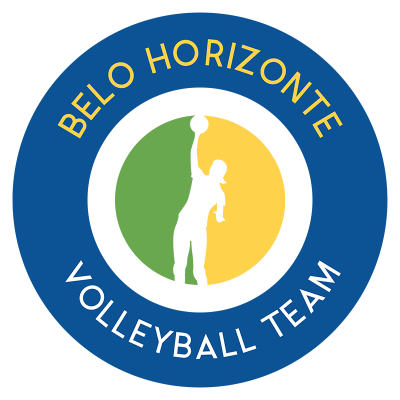 Circular Volleyball Logo Maker
