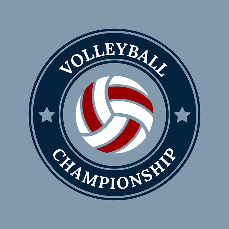 Sports Logo Maker To Design A Volleyball Team Logo